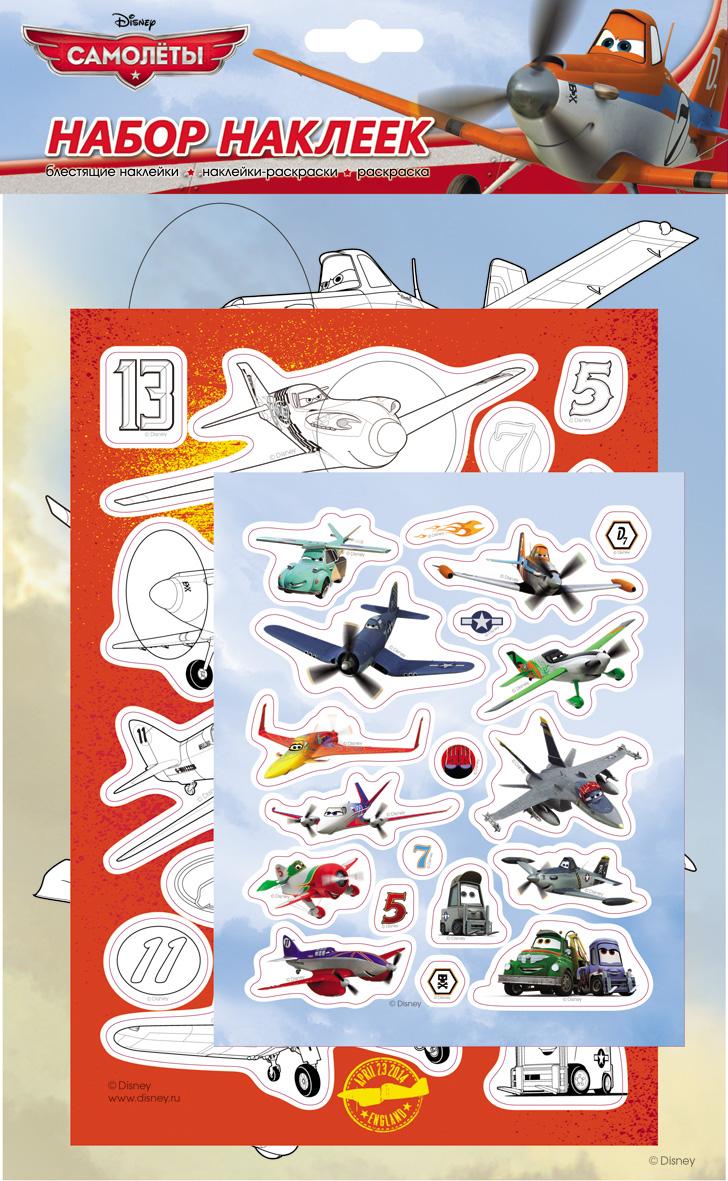 Набор наклеек – Самолеты 2, DisneyНаклейки<br>Набор наклеек – Самолеты 2, Disney<br>