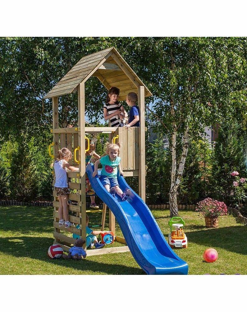 Купить Набор для игровой площадки: детский домик с песочницей и горкой, Paremo