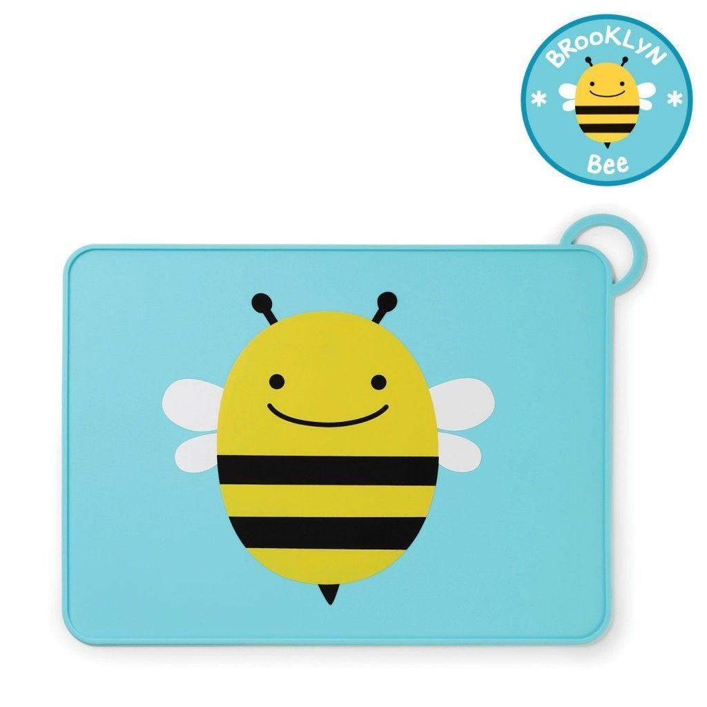 Купить Коврик для столовых приборов – Пчела, Skip Hop