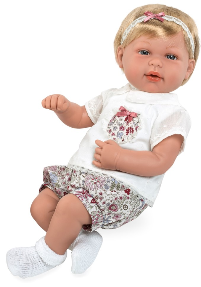 Интерактивная кукла из коллекции Elegance с соской, 45 см, плачет