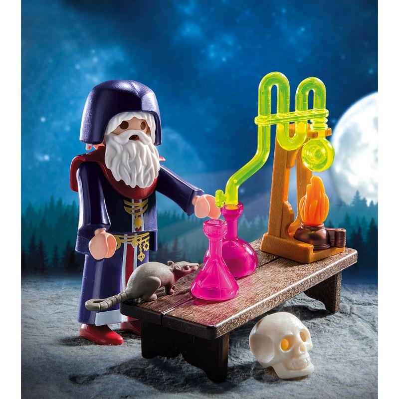 Игровой набор – Экстра-набор: Алхимик с зельями, Playmobil  - купить со скидкой