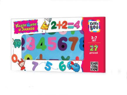 Набор магнитных цифр и знаков, 27 деталейАксессуары<br>Набор магнитных цифр и знаков, 27 деталей<br>