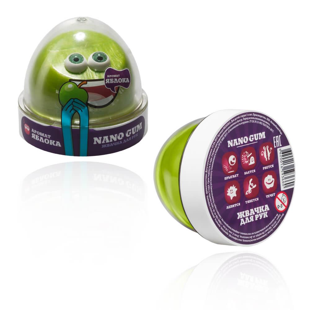 Жвачка для рук - Nano gum, аромат яблока, 50 граммЖвачка для рук<br>Жвачка для рук - Nano gum, аромат яблока, 50 грамм<br>