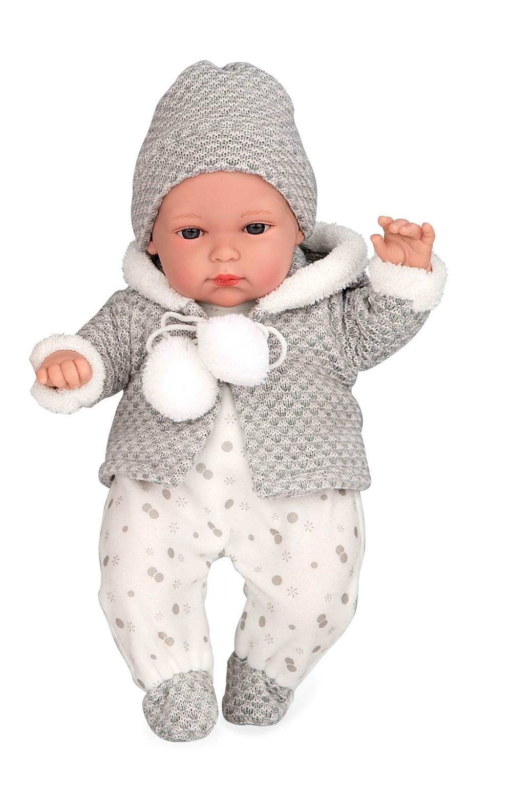 Купить Кукла из серии Arias Elegance с мягким телом 33 см., с соской и звуковыми эффектами