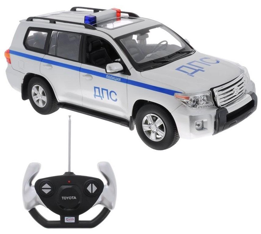Toyota Land Cruiser 200 ДПС на радиоуправлении, 1:16, свет и звукМашины на р/у<br>Toyota Land Cruiser 200 ДПС на радиоуправлении, 1:16, свет и звук<br>