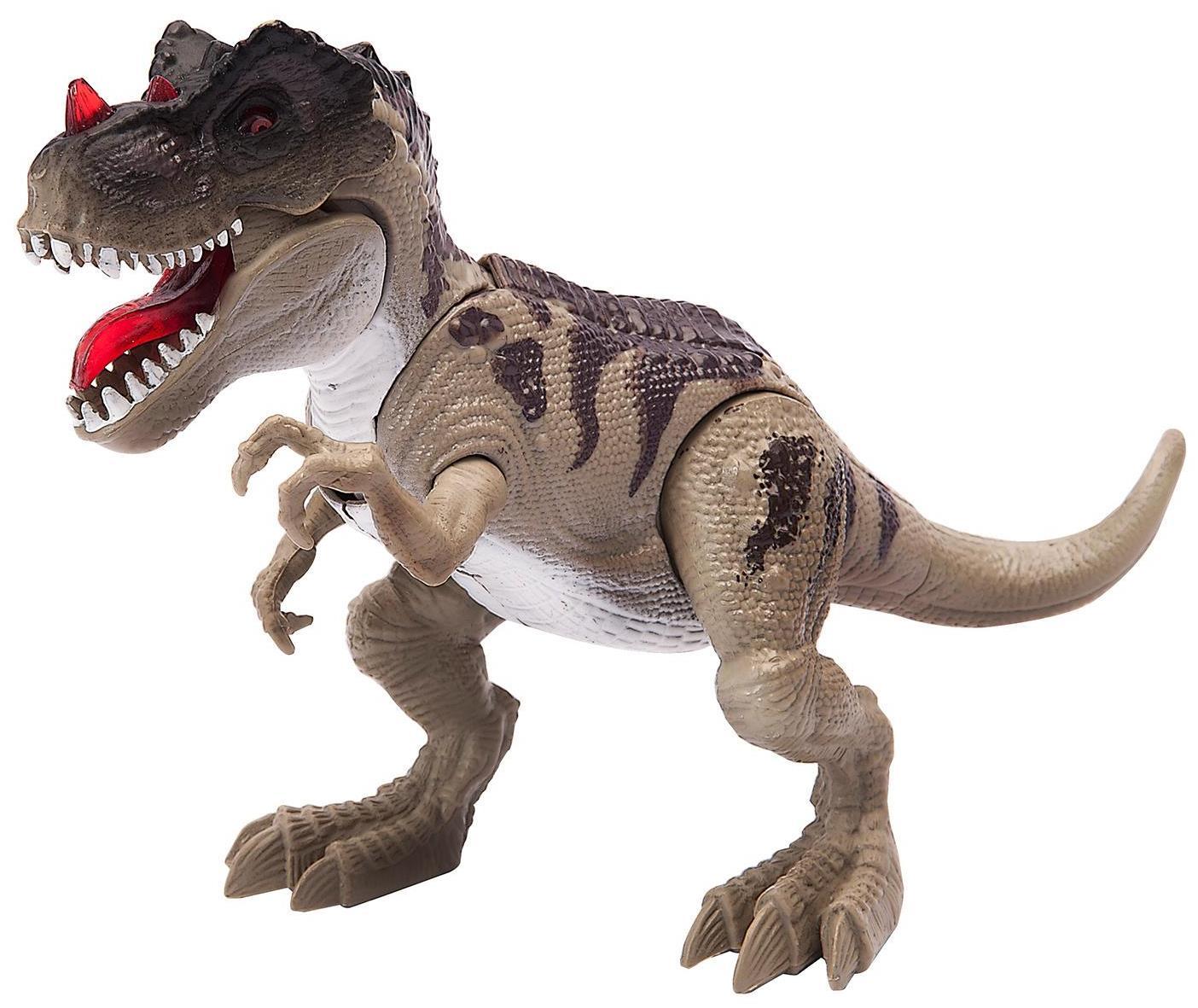 Купить Подвижная фигурка – Тираннозавр. Свет и звук, Chap Mei