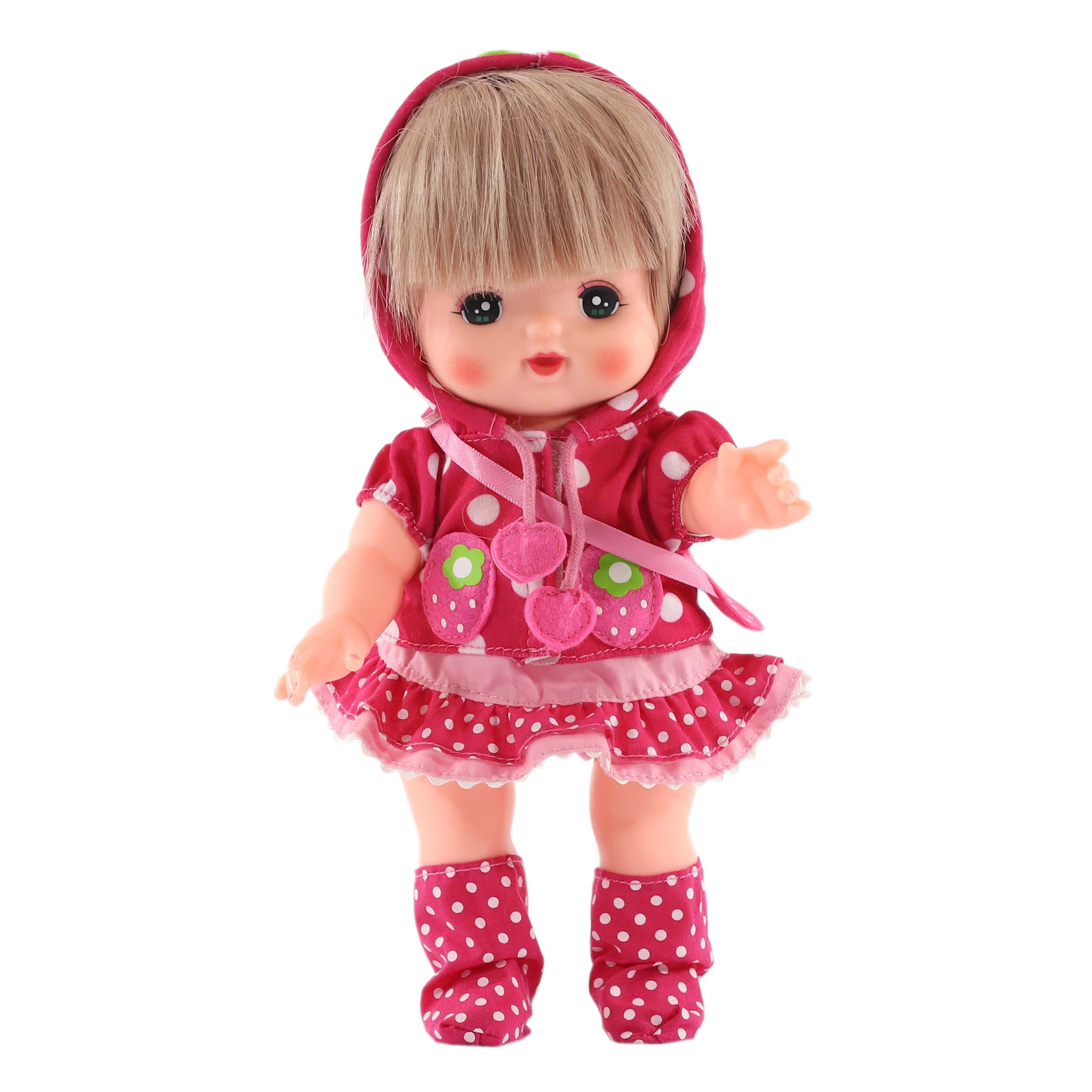 Комплект одежды Клубничка для куклы Мелл