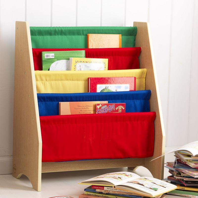 Эксклюзивный книжный шкаф PrimaryКорзины для игрушек<br>Эксклюзивный книжный шкаф Primary<br>