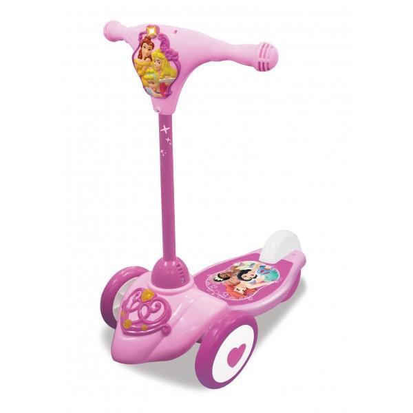 Самокат 3-колесный Принцессы