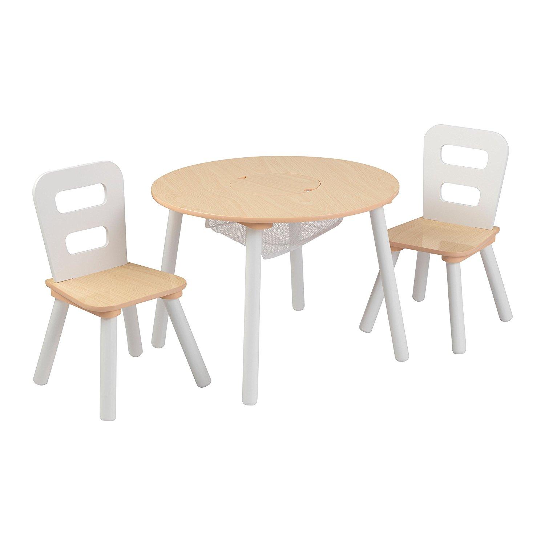 Купить Набор мебели Сокровищница - стол + 2 стула, бежевый, KidKraft