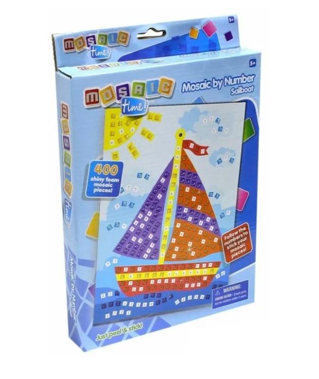 Мозаика по номерам Парусная лодка 400 деталей по цене 249