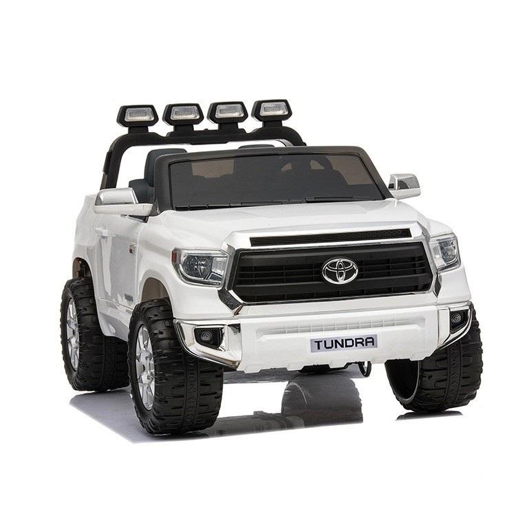 Купить Электромобиль ToyLand Toyota Tundra белого цвета