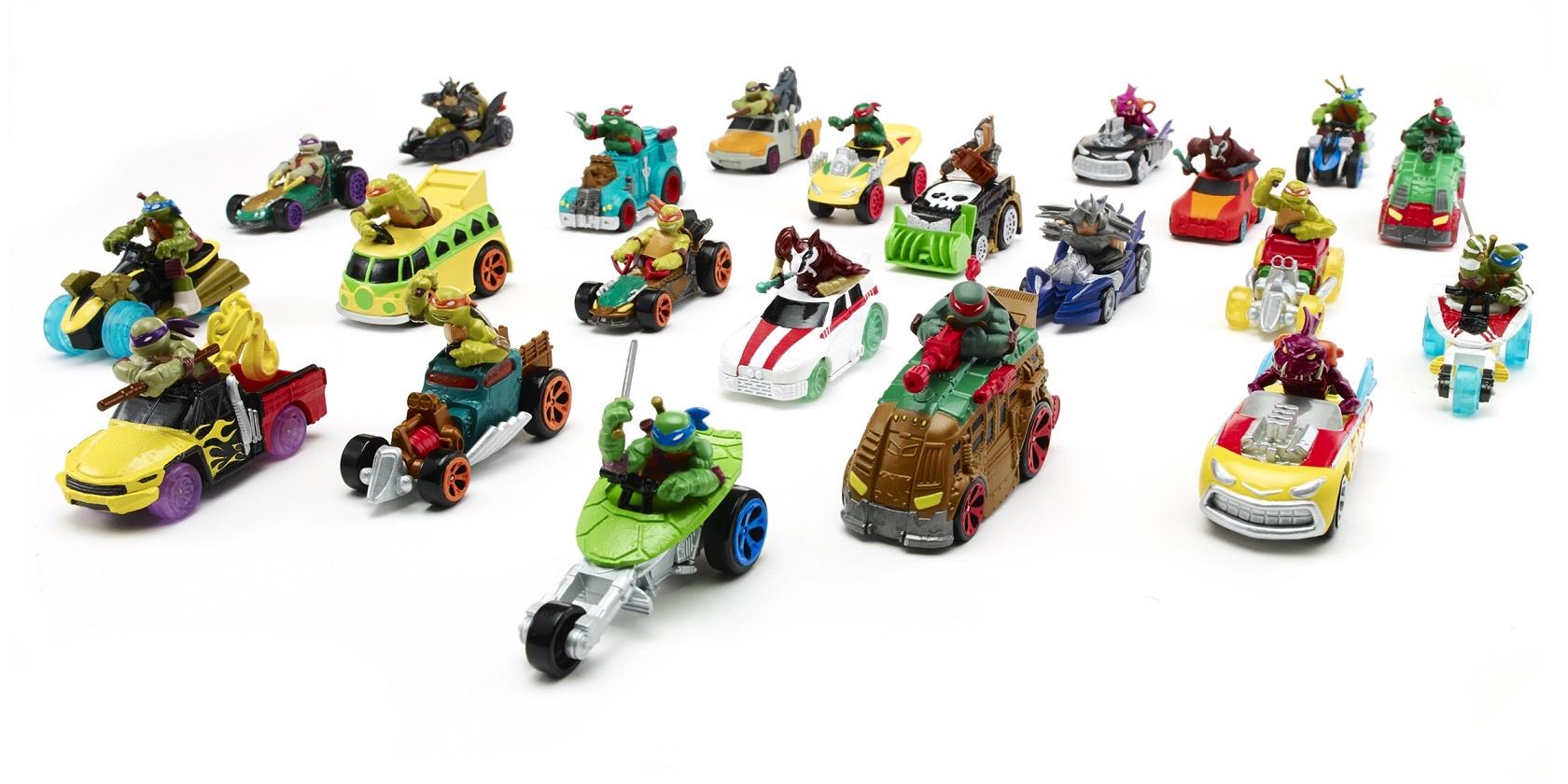 Купить Машинка из серии Черепашки-ниндзя, 7 см., несколько видов, Playmates