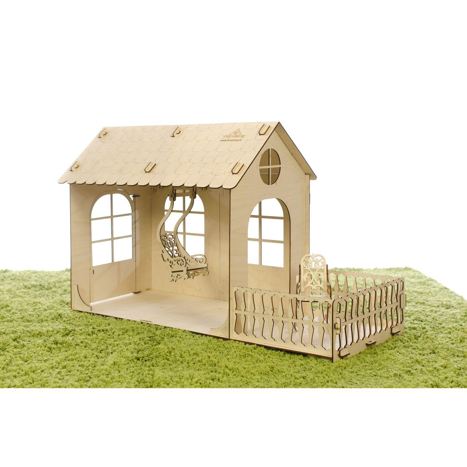 Сборная модель - Малый дом Барби фото