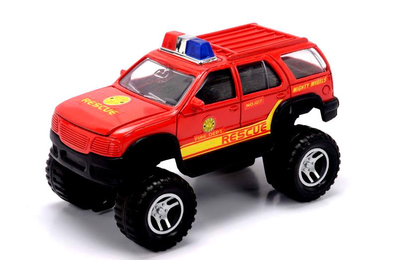 Пожарный внедорожник, 18 см.Пожарная техника, машины<br>Пожарный внедорожник, 18 см.<br>