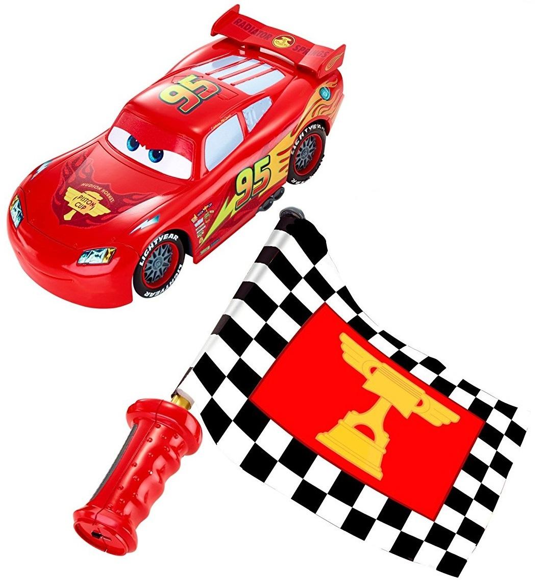 Cars-2 McQueen на радиоуправлении
