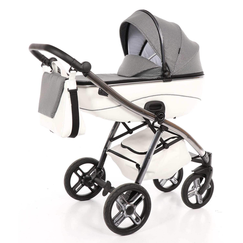 Детская коляска Nuovita Intenso, цвет - Bianco / Белый фото