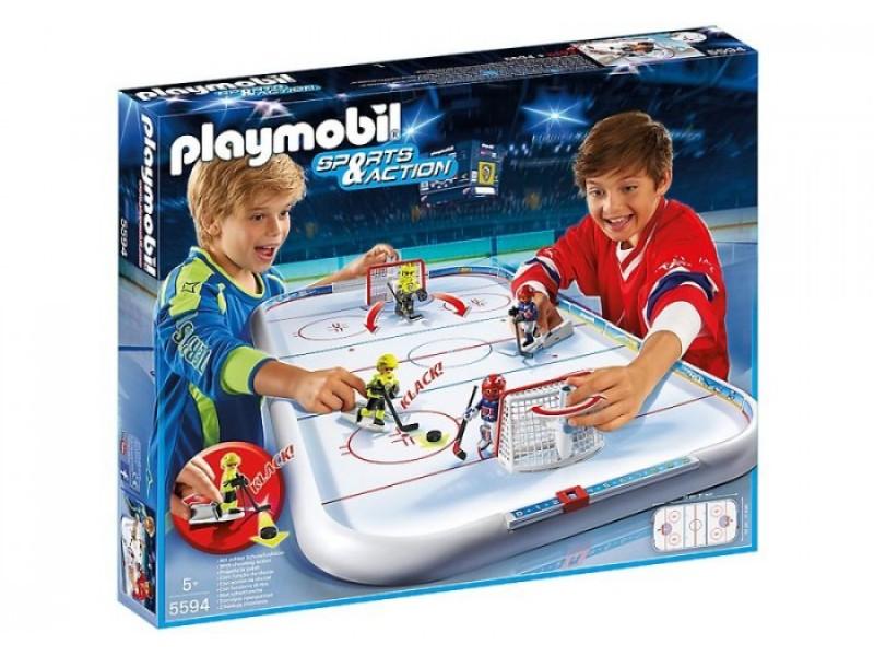 Купить Игровой набор из серии Хоккей: Хоккейная арена, Playmobil