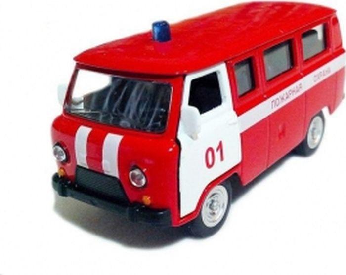 Инерционная металлическая модель - Пожарная охрана фото