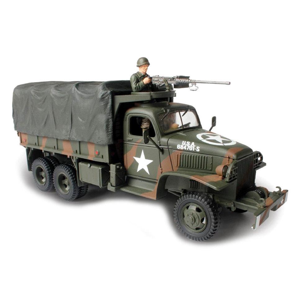 Коллекционная модель - американский 2,5 т грузовик, GMC, 1/32Военная техника<br>Коллекционная модель - американский 2,5 т грузовик, GMC, 1/32<br>