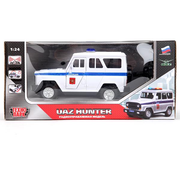 78fc1b6bbcf6 Машина УАЗ Hunter «Полиция» на радиоуправлении свет, звук от ...