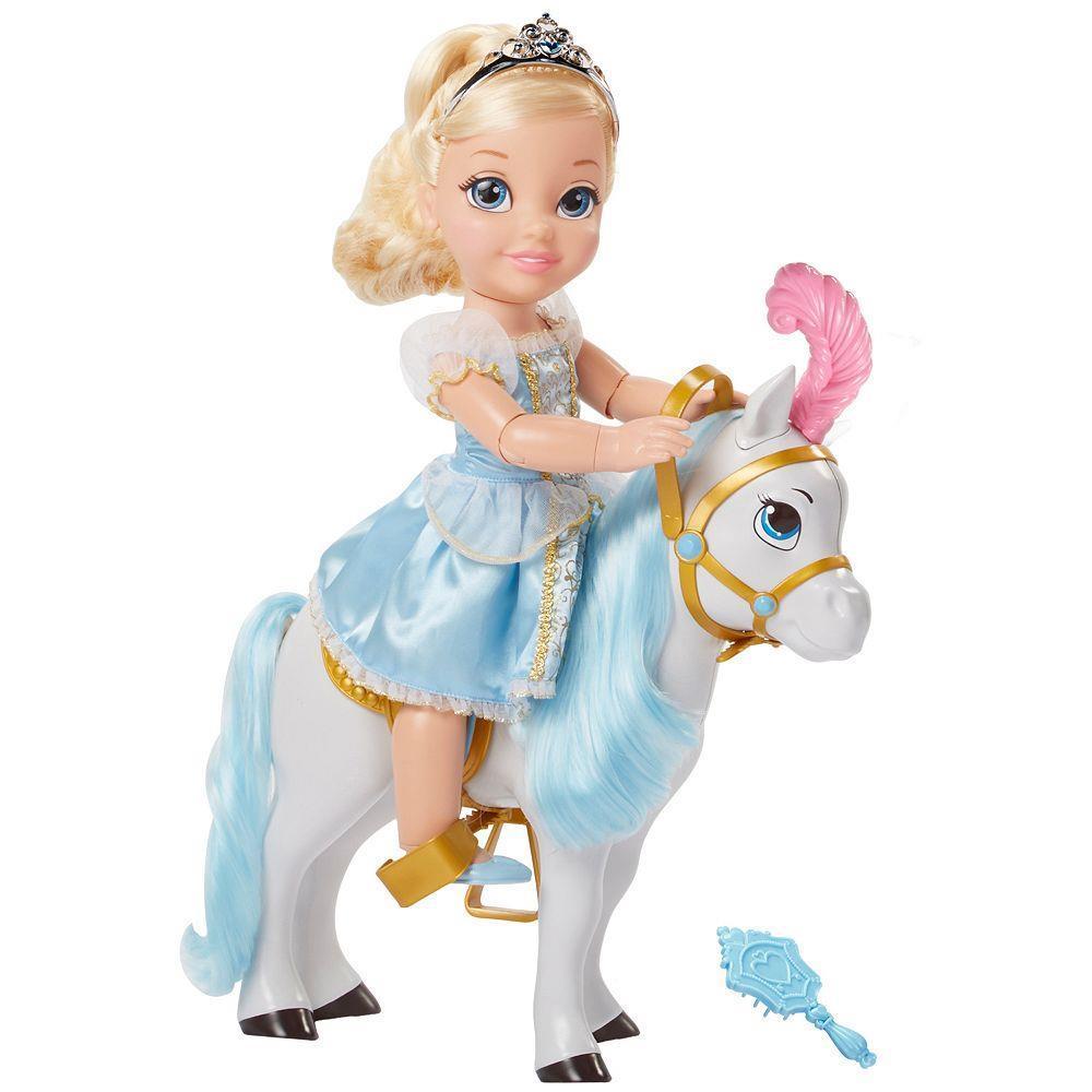 Игровой набор кукла - Принцесса Дисней - Золушка с лошадьюЗолушка<br>Игровой набор кукла - Принцесса Дисней - Золушка с лошадью<br>