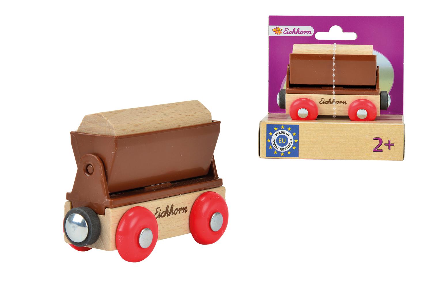 Игровой набор  Грузовой вагон  - Железная дорога для малышей, артикул: 113482