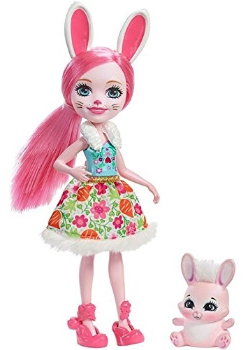 Купить Кукла Enchantimals с питомцем - Бри Кроля, 15 см, Mattel