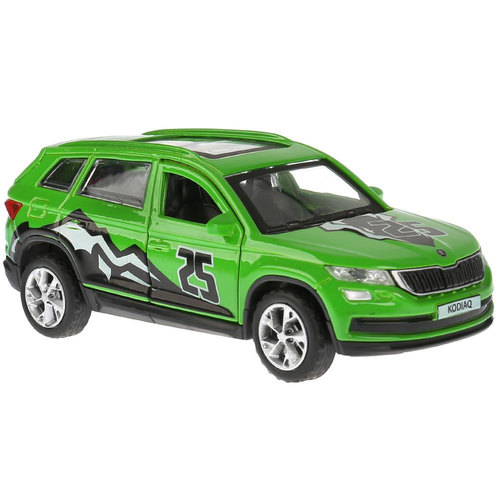 Купить Машина металл Skoda Kodiaq Спорт, 12 см, открываются двери и багажник, инерционная, Технопарк