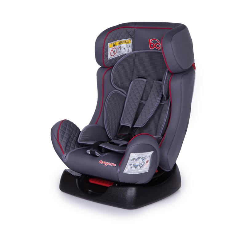 Купить Детское автомобильное кресло Nika, серое 0+/I/II, Baby Care
