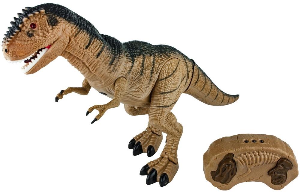 Купить Игрушка интерактивная Динозавр с ИК пультом, голова из мягкого ПВХ, свет и звук, 1TOY