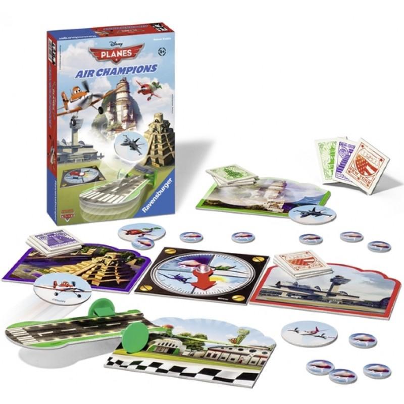 Настольная игра - Самолёты: воздушные чемпионыИгры для компаний<br>Настольная игра - Самолёты: воздушные чемпионы<br>