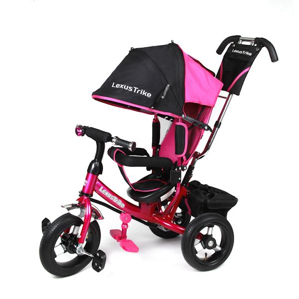 Велосипед - Lexus Trike Lr, 3-х колёсный с ручкой, розовыйВелосипеды детские<br>Велосипед - Lexus Trike Lr, 3-х колёсный с ручкой, розовый<br>