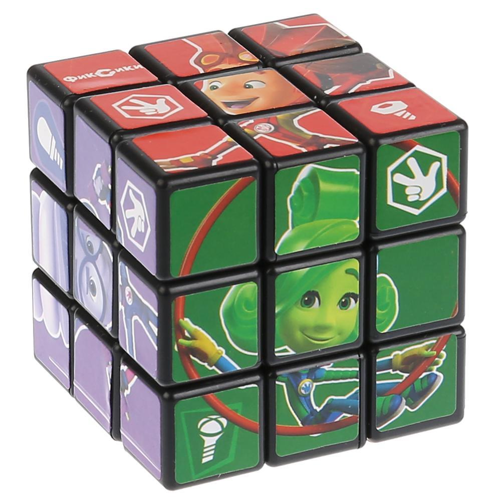 Логическая игра Фиксики - Кубик 3х3 с картинками фото