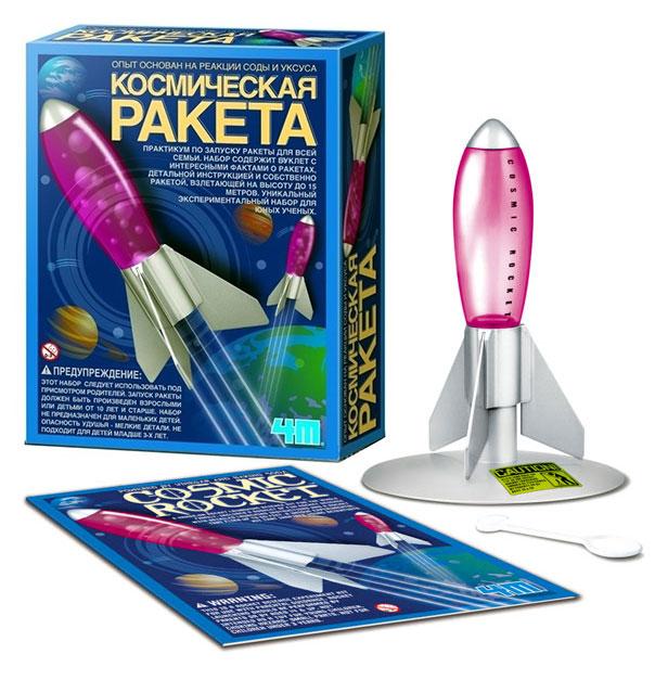 Набор для эксперимента - Космическая РакетаЮный химик<br>Набор для эксперимента - Космическая Ракета<br>