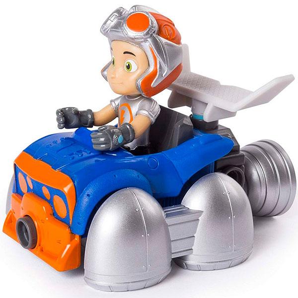 Купить Игрушка из серии Rusty Rivets - Строительный набор малый с фигуркой героя Flying Rusty Kart, Spin Master