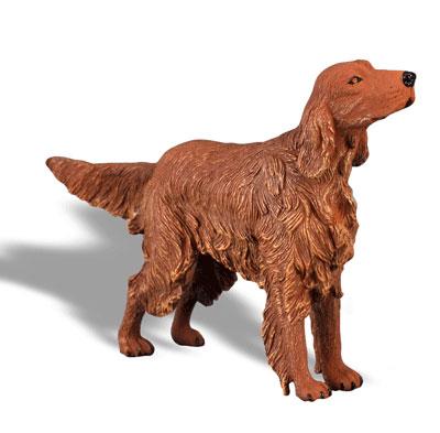 Фигурка ирландского сеттераСобаки и щенки (Dogs &amp; Puppies)<br>Фигурка ирландского сеттера<br>