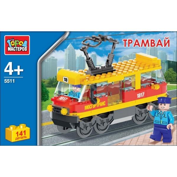 Конструктор - ТрамвайГород мастеров<br>Конструктор - Трамвай<br>