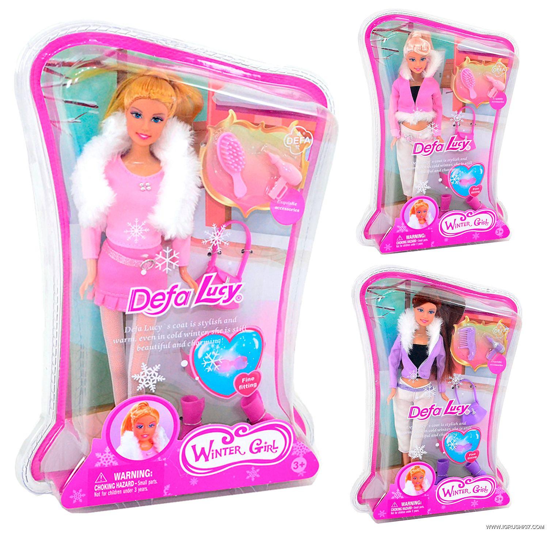 Кукла в шубке, 29 смКуклы Defa Lucy<br>Кукла в шубке, 29 см<br>