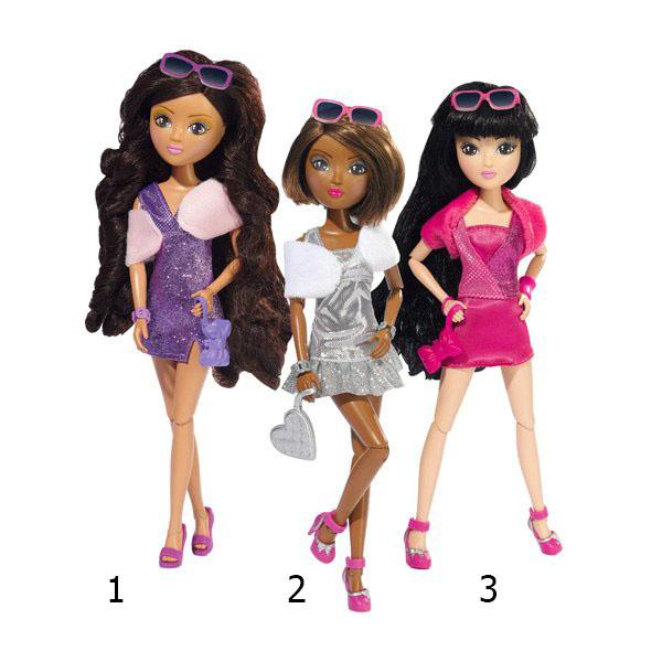 Кукла в блестящем платье – Супермодель: Сара, Бель, Мири, 26 смПупсы<br>Кукла в блестящем платье – Супермодель: Сара, Бель, Мири, 26 см<br>
