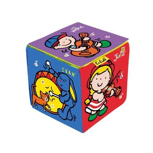Музыкальный развивающий кубикРазвивающие игрушки K-Magic от KS Kids<br>Музыкальный развивающий кубик<br>
