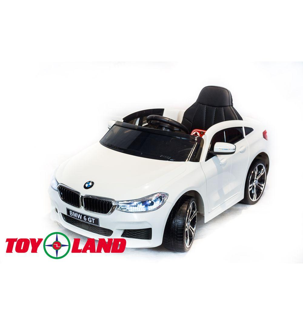 Электромобиль BMW 6 GT, белого цвета