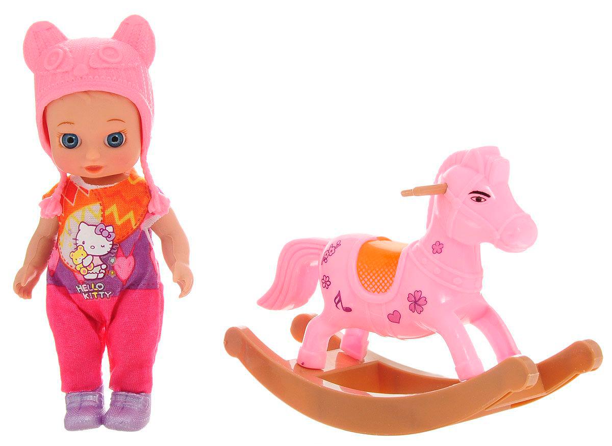 Кукла - Hello Kitty – Моя подружка Машенька, 12 см с аксессуарамиКуклы Карапуз<br>Кукла - Hello Kitty – Моя подружка Машенька, 12 см с аксессуарами<br>
