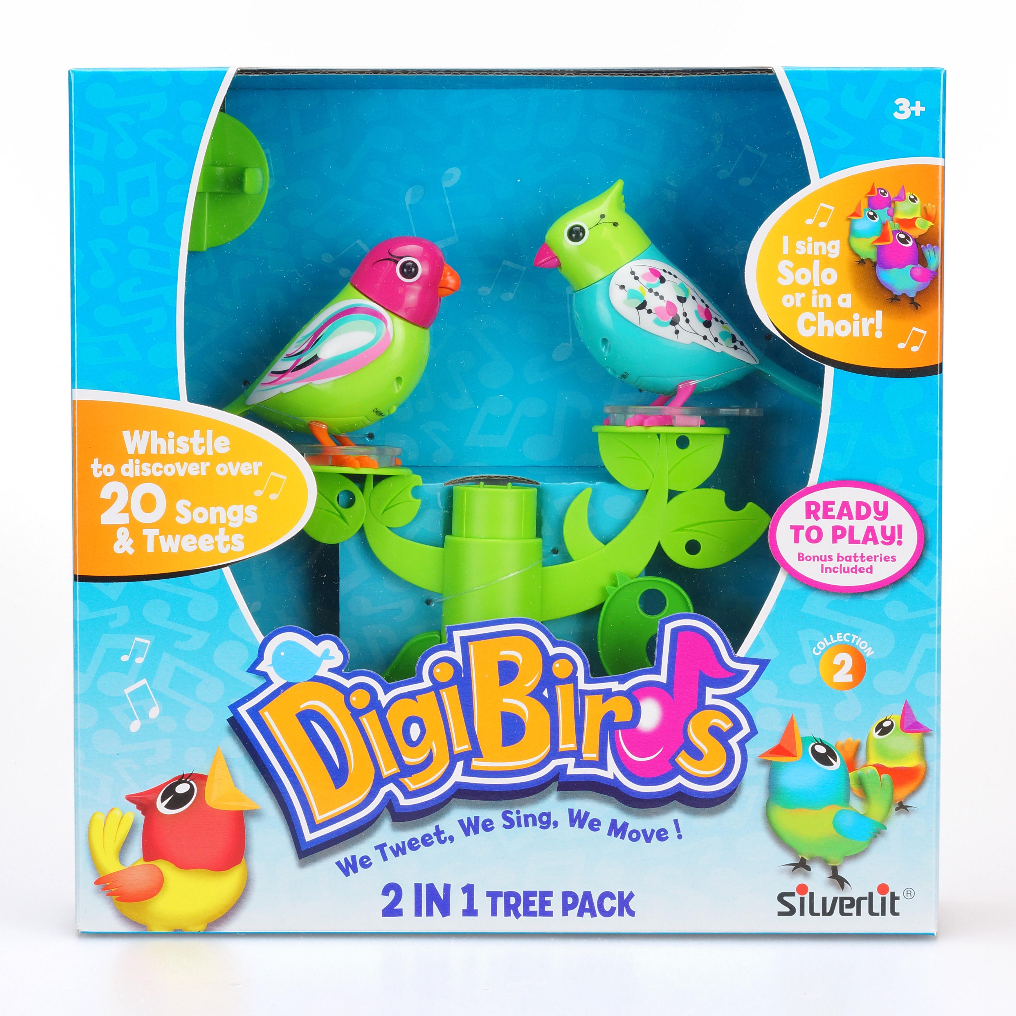 Silverlit. Две птички с деревом DigiFriends-DigiBirdsСкидки до 70%<br>Silverlit. Две птички с деревом DigiFriends-DigiBirds<br>