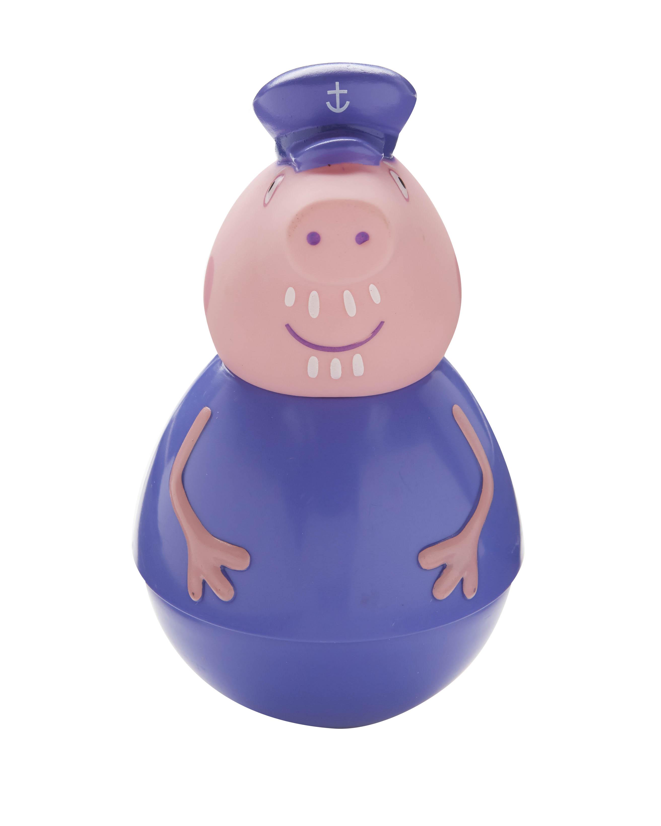 Фигурка-неваляшка Weebles «Дедушка Пеппы» тм Peppa PigСвинка Пеппа (Peppa Pig )<br>Фигурка-неваляшка Weebles «Дедушка Пеппы» тм Peppa Pig<br>