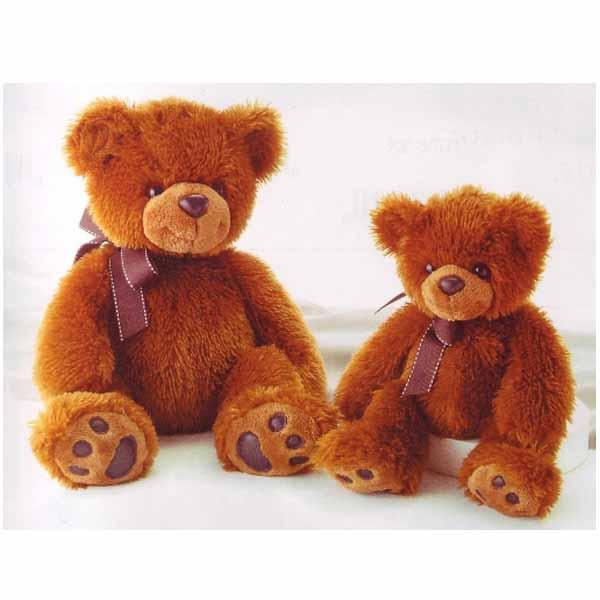 Медведь тёмно-коричневый 70 см - Медведи, артикул: 25295