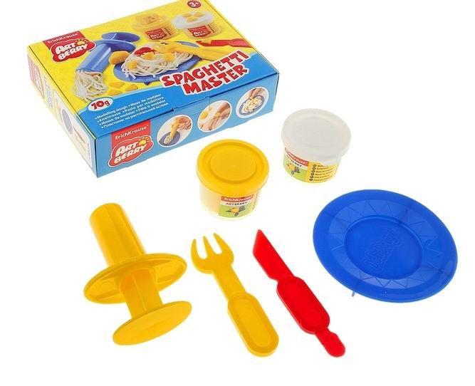 Купить Малый набор для лепки Artberry - Spaghetti Master, 2 банки по 35 грамм, Erich Krause