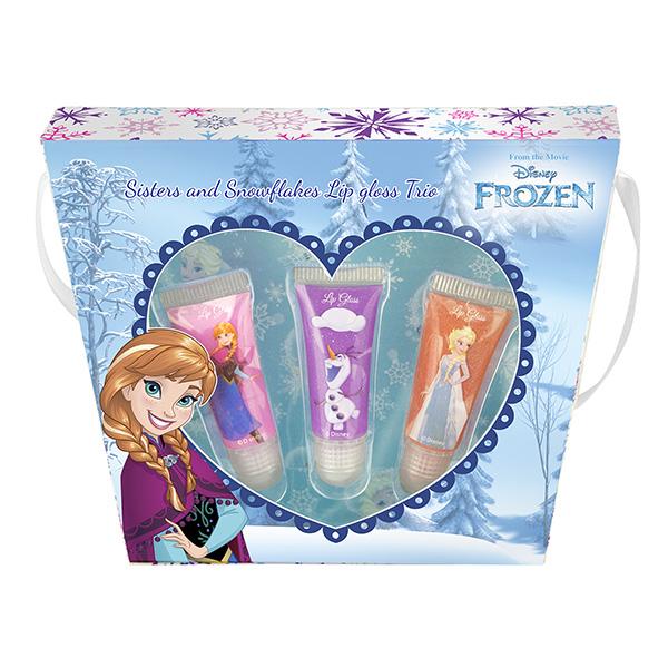 Набор детской декоративной косметики для губ Анна из серии FrozenЮная модница, салон красоты<br>Набор детской декоративной косметики для губ Анна из серии Frozen<br>