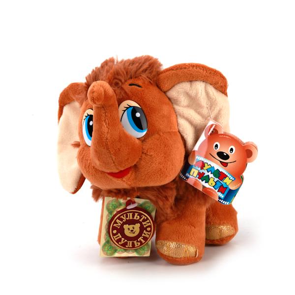 Мягкая игрушка – Мамонтенок, 20 см - Игрушки Союзмультфильм, артикул: 143920