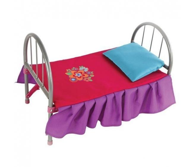 Кроватка для кукол – Цветочек